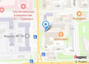 Компания «Вышка» на карте