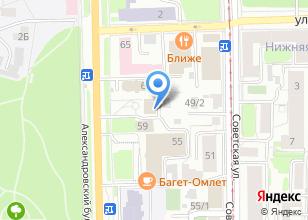 Компания «Управление культуры Администрации г. Томска» на карте