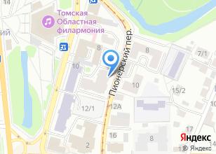 Компания «АйронСиб» на карте