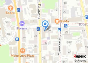 Компания «Эгоист студия» на карте