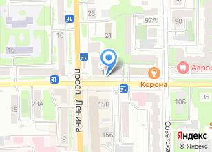 Компания «Мир суши» на карте