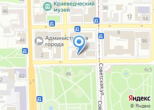 Компания «Территориальный орган Федеральной службы государственной статистики по Томской области» на карте