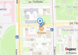 Компания «Обжорный ряд» на карте