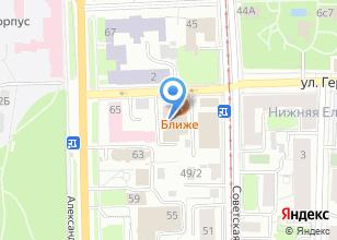 Компания «Bon Appetit» на карте