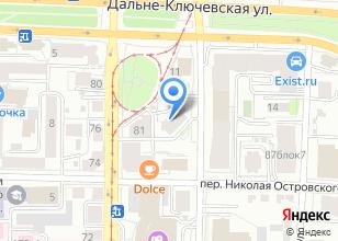 Компания «Bars» на карте