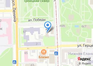 Компания «Испалитания» на карте