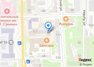 Компания «ОШ» на карте