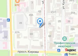 Компания «Дастин» на карте