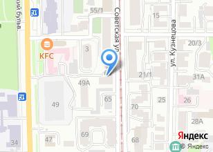 Компания «Ситис» на карте