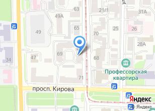 Компания «Советская 69» на карте
