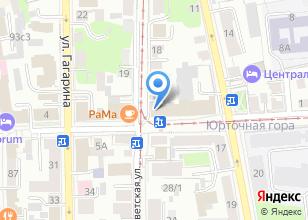 Компания «Джем-сейшн» на карте