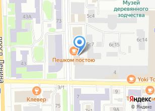 Компания «Вузсервис» на карте
