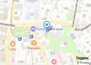 Компания «Стразы» на карте