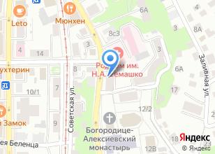 Компания «МегаМаг» на карте
