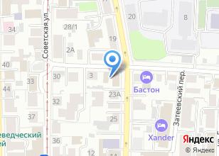 Компания «Космонавт» на карте