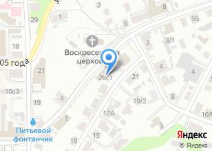 Компания «Следственный отдел по Октябрьскому району» на карте