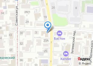Компания «Звезды» на карте