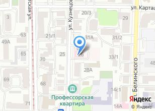 Компания «Томский областной противотуберкулезный диспансер» на карте