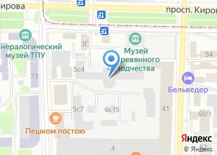 Компания «Тосико» на карте