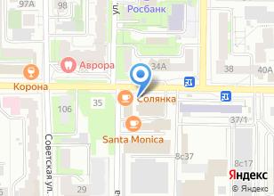 Компания «КУХНЯ» на карте