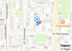 Компания «Картинная галерея на Карташова» на карте