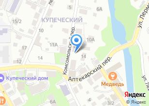 Компания «Управление по Томской области» на карте