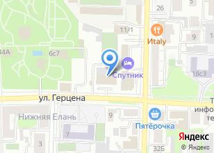 Компания «Агентство Горячих туров» на карте