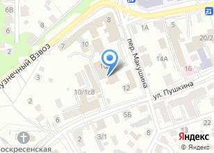 Компания «АСТРА-МЕБЕЛЬ» на карте