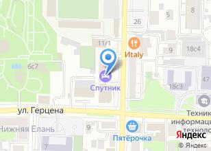 Компания «Томсктурист» на карте