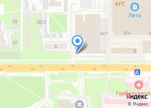 Компания «Инспекция Федеральной налоговой службы России по г. Томску» на карте