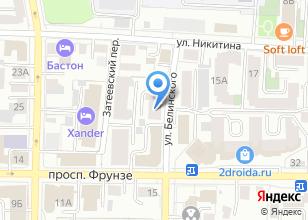 Компания «Томсккосмоссвязь» на карте