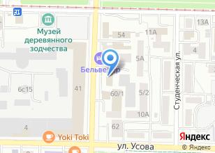 Компания «Айрис» на карте