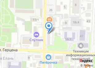 Компания «БЬЮТИ ЦЕНТР Татьяны Рязановой» на карте