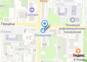 Компания «Веллком» на карте