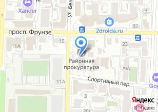 Компания «Томская межрайонная природоохранная прокуратура» на карте