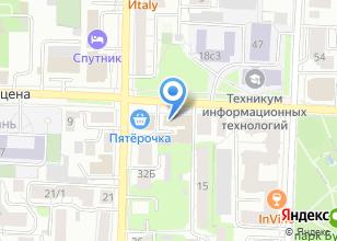 Компания «Treetel» на карте