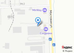 Компания «Мебель Cити» на карте