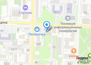 Компания «Топ сервис» на карте