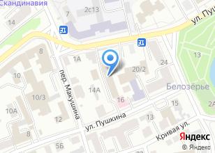 Компания «Томскагролизинг» на карте