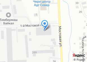 Компания «Ространс+» на карте