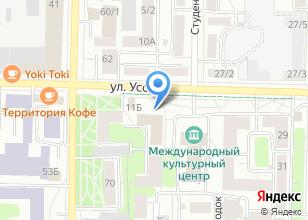 Компания «Коррекция» на карте