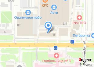 Компания «Теплоэнергосбыт» на карте