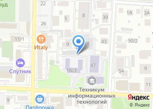 Компания «Силикон Сервис» на карте