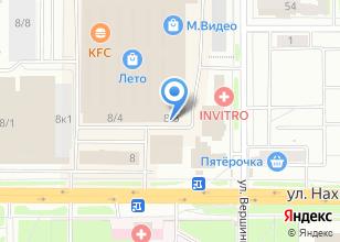Компания «Нахимовская» на карте