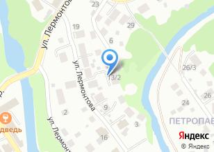 Компания «Токарная мастерская» на карте
