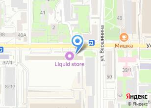 Компания «1001литр» на карте