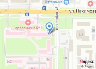 Компания «Городская клиническая больница №3» на карте