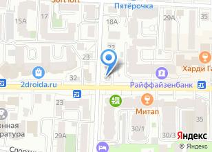 Компания «Цезарь» на карте