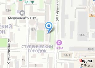 Компания «Общежитие НИ ТПУ» на карте