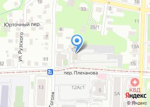 Компания «Управление социальной политики Администрации г. Томска» на карте